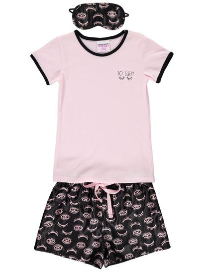 Girls Pyjama With Eye Mask