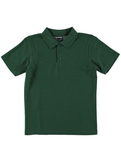 BOTTLE GREEN KIDS POLO