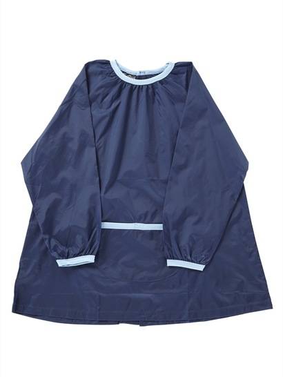 NAVY BLUE KIDS ART SMOCK