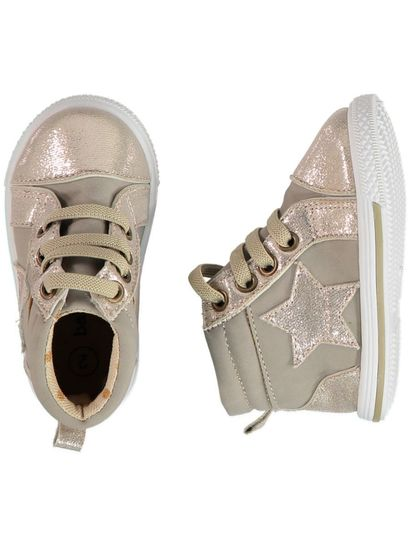 Baby Girl Metallic Trainer