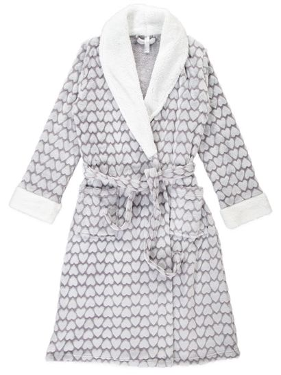 Coral Fleece Dressing Gown