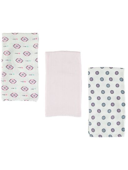 Baby Muslin Wraps 3 Pack