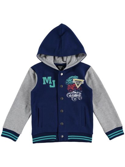 Boys Monster Jam Fleece Jacket