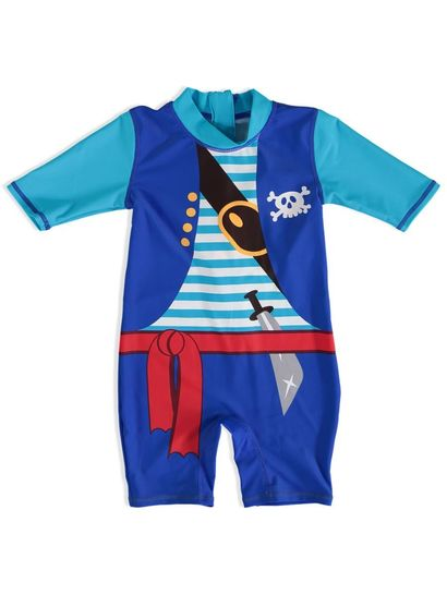 BOYS PRINT SWIMSUIT