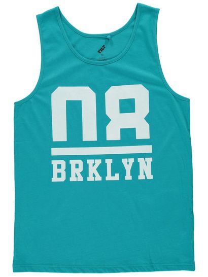 By Print Front Tank Top