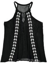 EMBROIDERED TANK WOMENS