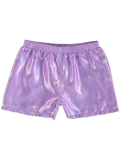Girls Satin Boxer Shorts