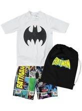 BOYS BATMAN SWIMSET