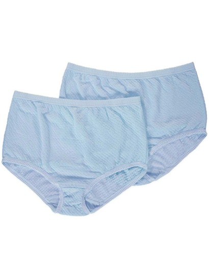 Full Brief Diamond Jacquard 2Pk