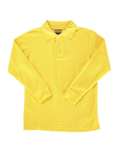 Kids Basic Long Sleeve Polo