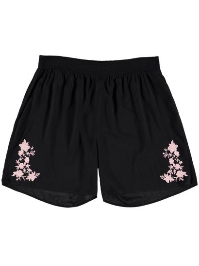 Womens Embroidered Short