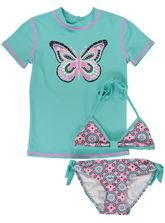 GIRLS PRINT SWIM SET