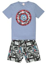 MENS CAPTAIN AMERICA PJ SET