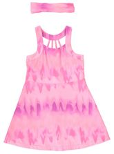TODDLER GIRLS OMBRE PRINT DRESS