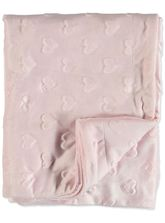 Baby Sherpa Fleece Dotty Blanket