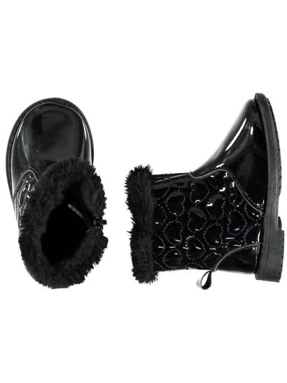 Baby Girl Patent Boot