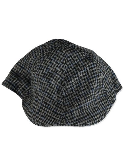 MENS CHECK CAP