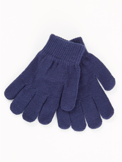 NAVY BLUE KIDS GLOVES