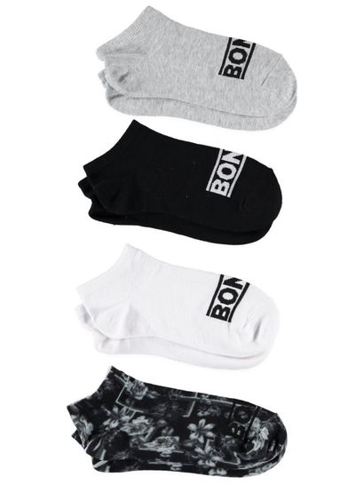 Bonds 4Pk Trainer Sock Womens Socks