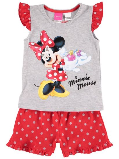 Girls Minnie Mouse Knit Pyjama