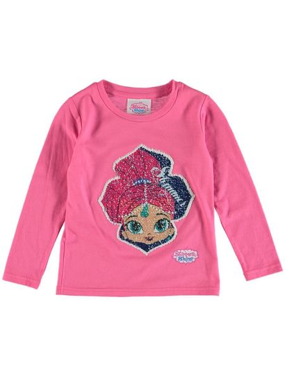 Toddler Girls Shimmer And Shine  Top