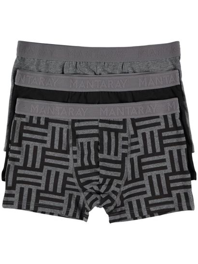 Mens 3Pk Fitted Trunks