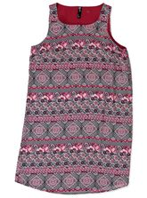 WOMENS PRINT SHIFT DRESS