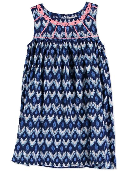 INFANT GIRLS WOVEN DRESS