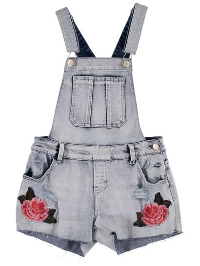 Girls Denim Short- All