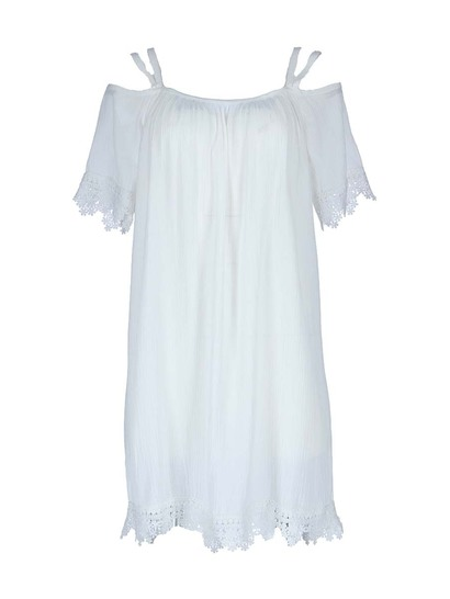 Womens Cold Shoulder Kaftan