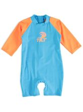 BOYS PLAIN 1PCE SWIMSUIT