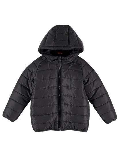 Boys Hooded Puffa Jacket