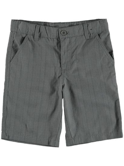 Boys Check Skater Short