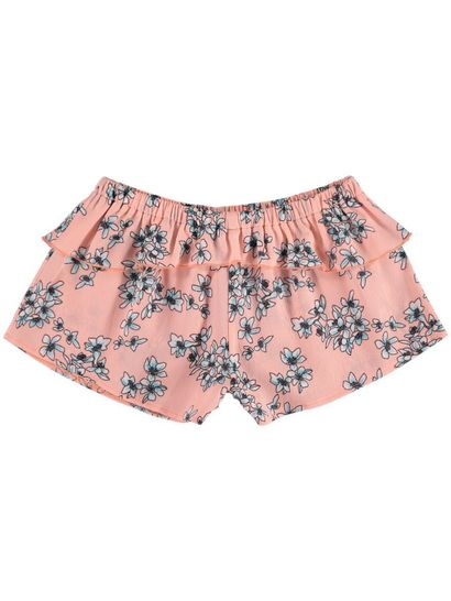 Girls Floral Short