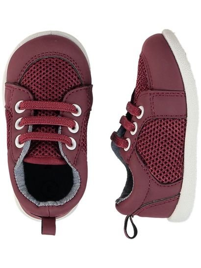 Baby Boy Maroon Shoe