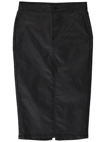 Miss Mango Leatherette Pencil Skirt