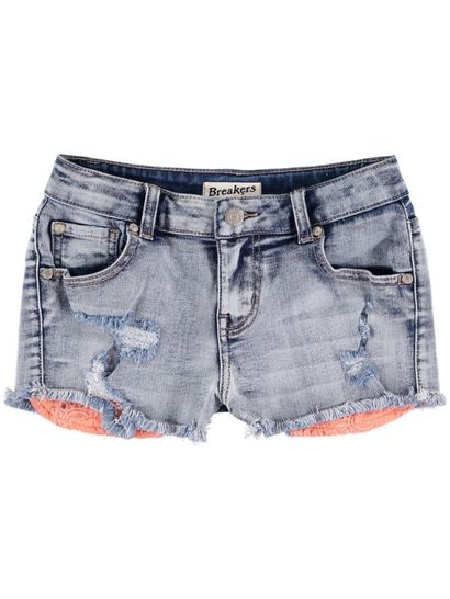 Girls Coral Pocket Short