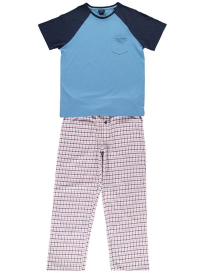 Mens Short Lounge Set