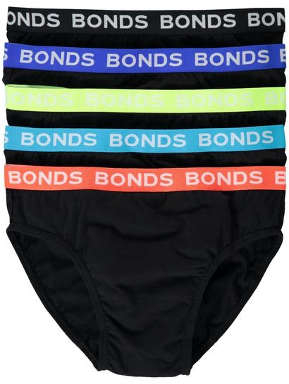 BONDS BRIEFS 5 PACK