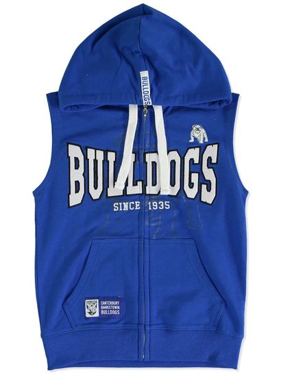 NRL YOUTH SLEEVELESS HOODIE