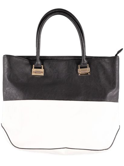Womens 2 Toned Tote Bag