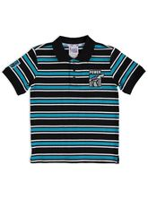 YOUTH AFL STRIPE POLO