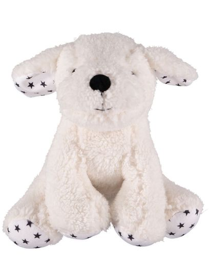 Star Print Plush Dog