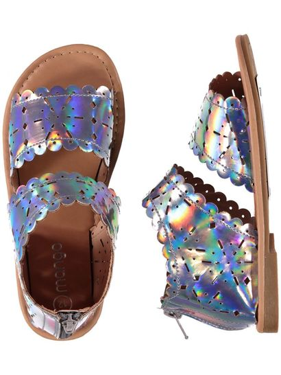 Toddler Girls Mirror Sandal