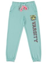GIRLS PRINTED FRENCH TERRY TRACKPANT