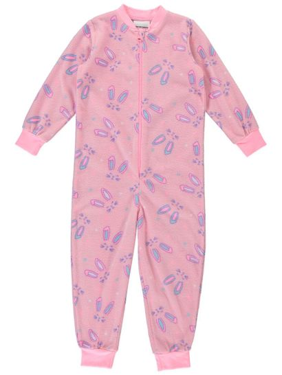 Girls Microfleece Onesie
