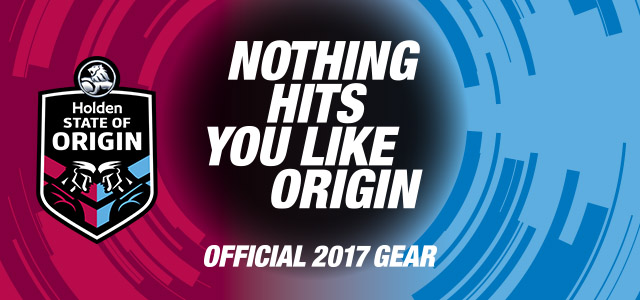 Official State of Origin Gear