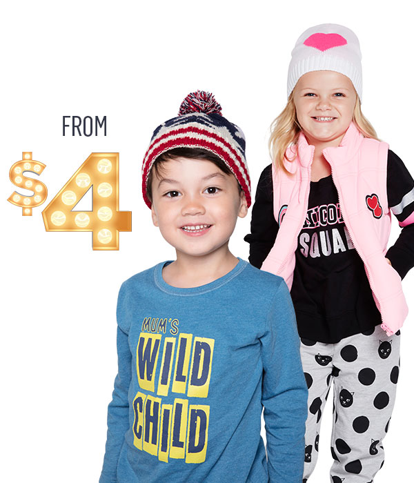 Beanies & Gloves from $4