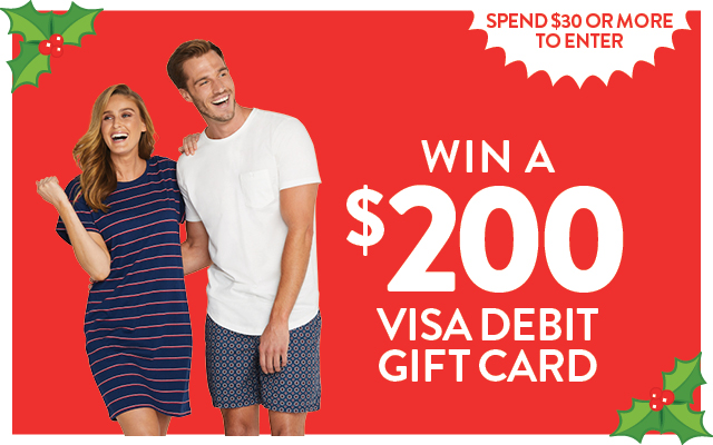 Win a $200 Visa Debit gift card - one in every store to be won!