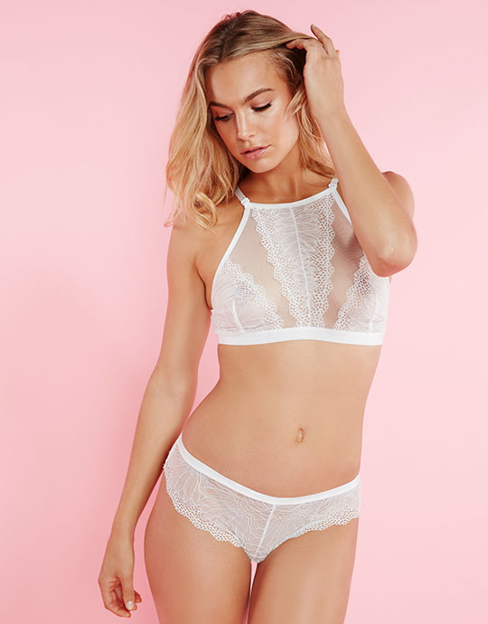Miss Mango Lingerie Look 1